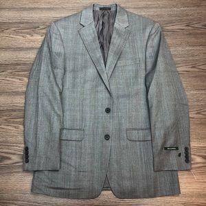Lauren Ralph Lauren NWT Grey Plaid Blazer 40R